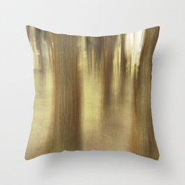 Nature abstract Throw Pillow