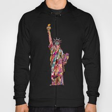 the french gift: statue of liberty Hoody