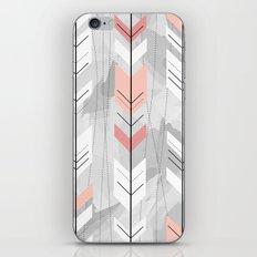 Abstract boho geometric arrows iPhone & iPod Skin