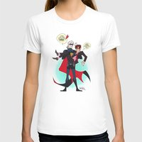 yaoi T-shirts featuring PruMano superheroes by Jackce