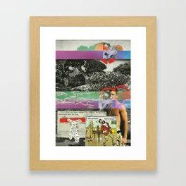 So We Beat On Framed Art Print