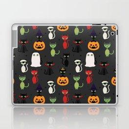 Halloween Cats Laptop & iPad Skin