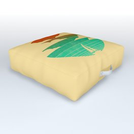 Go West (sail away in my boat) Outdoor Floor Cushion