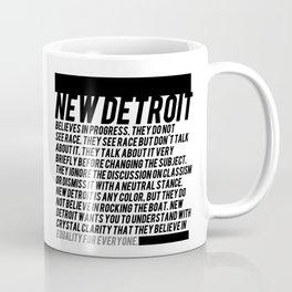 New Detroit Coffee Mug