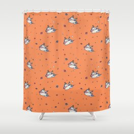 Can Ye Touch The Sky Shower Curtain