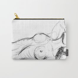 Laying Figure  Carry-All Pouch