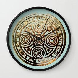 bronze relic, london, circa 2015 Wall Clock