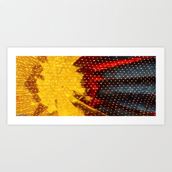 Ceilingburst part 1 Art Print