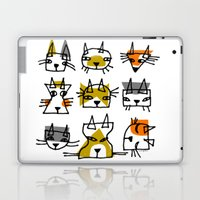 LINE CATS Laptop & iPad Skin
