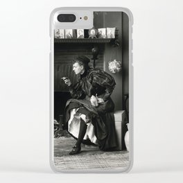 New Woman Clear iPhone Case