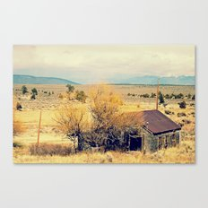 Leaving New Mexico Canvas Print
