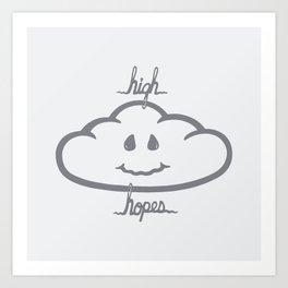H/GH HOPES Art Print