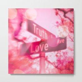 Find True Love Metal Print