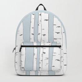 Aspen Forest - Blue Grey Backpack