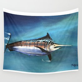 Marlin Wall Tapestry