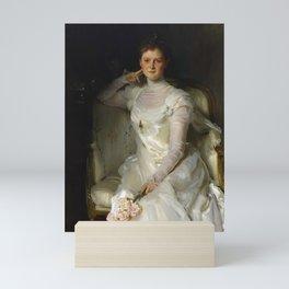 "John Singer Sargent ""Mrs. Joshua Montgomery Sears (Sarah Choate Sears) "" Mini Art Print"