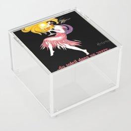 Drink Up Acrylic Box