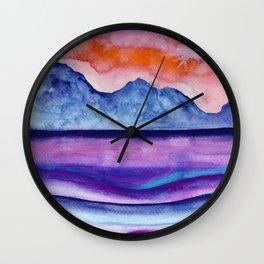 A 0 36 color option Wall Clock