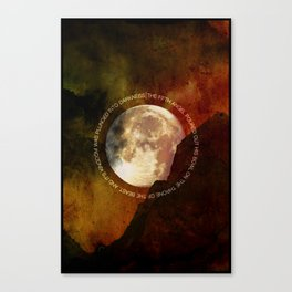 The Fifth Bowl   3•1 Canvas Print