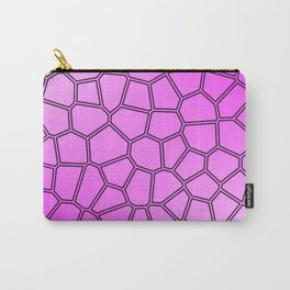 purple pattern Carry-All Pouch