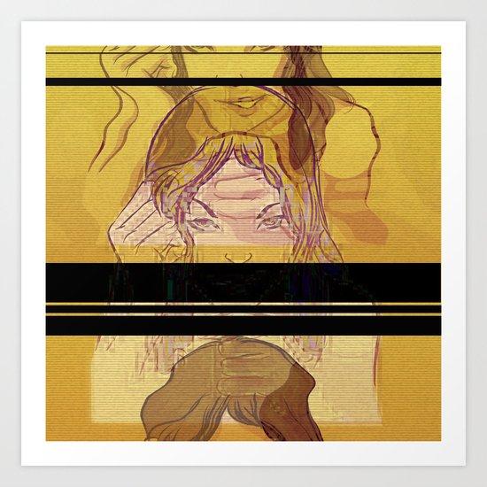 pr0n Art Print