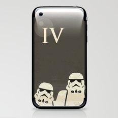 Star Wars Minimal Movie Poster iPhone & iPod Skin