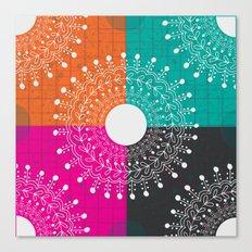 Beauty  multicolour Canvas Print