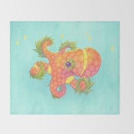 Sweeture: Octopineapple Throw Blanket