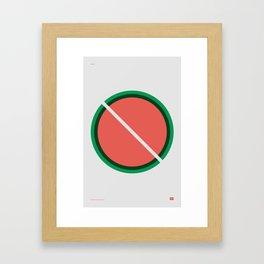 Seedless Framed Art Print