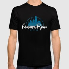 Andrew Ryan - Rapture Mens Fitted Tee Black SMALL