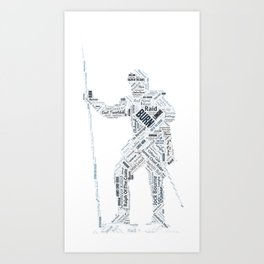 Burn Reiver Art Art Print