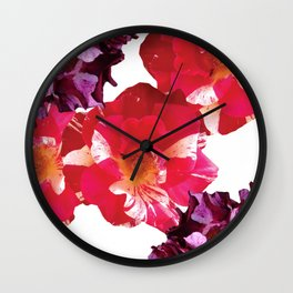 Roses Beautiful and Jazzy Wall Clock