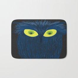 The Blue Owl Bath Mat