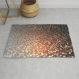 Tortilla brown Glitter effect - Sparkle and Glamour Rug