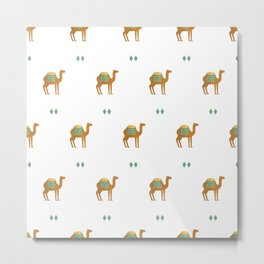 Camels all around Metal Print
