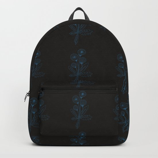 Dandelion black Backpack
