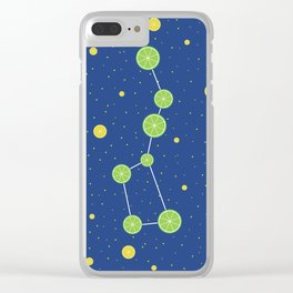 Citrus constellations Clear iPhone Case