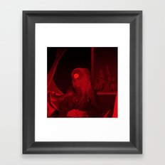red 5 · the truth is dead Framed Art Print