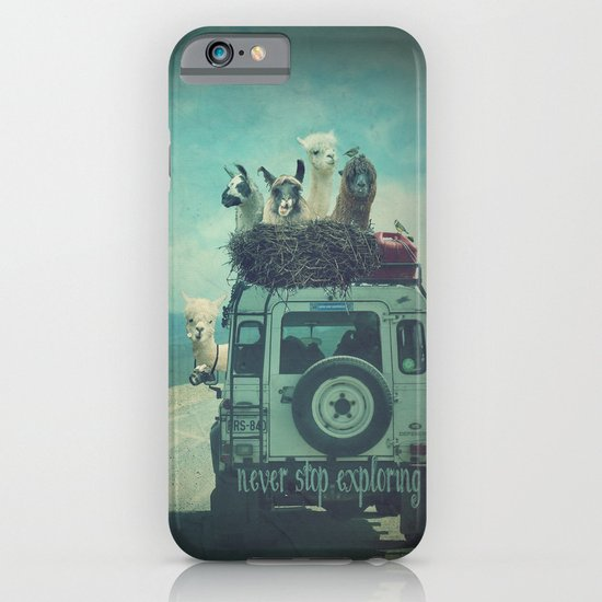 NEVER STOP EXPLORING II iPhone & iPod Case