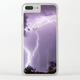Exhilarating Clear iPhone Case