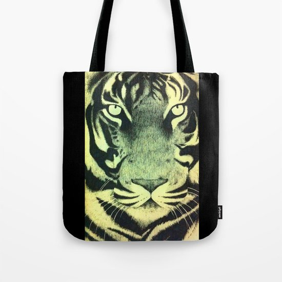 Be a Tiger (Yellow) Tote Bag