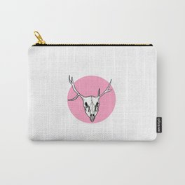 Skull in PINK Carry-All Pouch