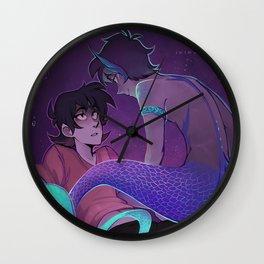 Mermaid Klance Wall Clock