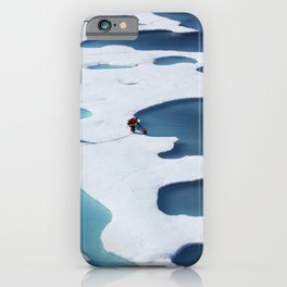 The ICESCAPE mission or Impacts of Climate on Ecosystems and Chemistry of the Arctic Pacific Environment near Alaska iPhone Case