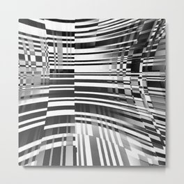 barcode splash. 2018 Metal Print