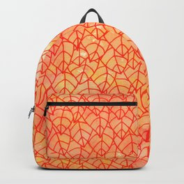 Autumn foliage watercolor Backpack