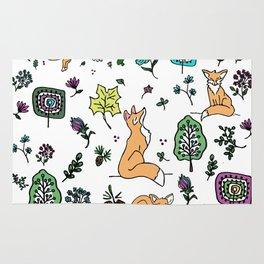 Woodland Fox Rug