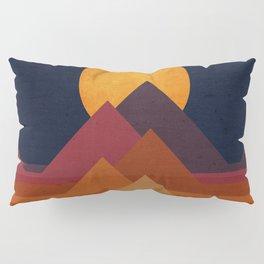 Full moon and pyramid Pillow Sham