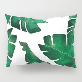 Banana leafs Pillow Sham