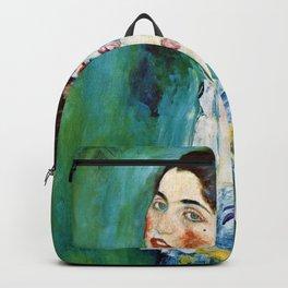 Gustav Klimt - Portrait Of A Lady - Digital Remastered Edition Backpack